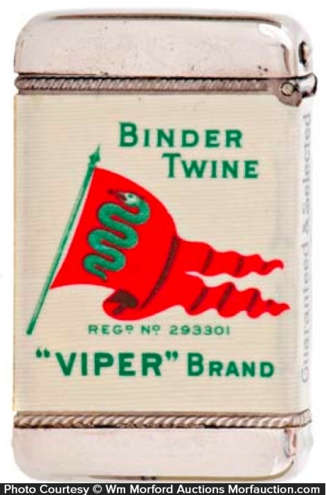 Viper Binder Twine Match Safe