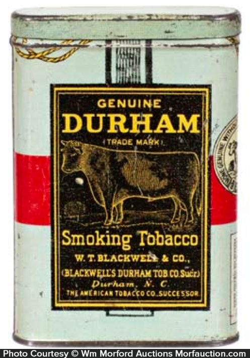 Genuine Durham Tobacco Tin