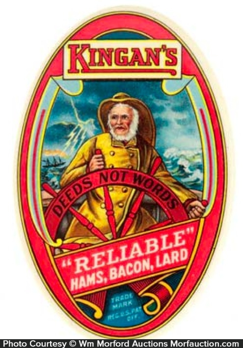 Kingan's Reliable Pocket Mirror
