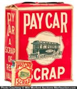 Pay Car Tobacco Display