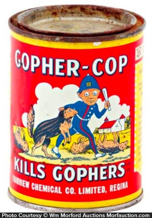 Gopher-Cop Tin