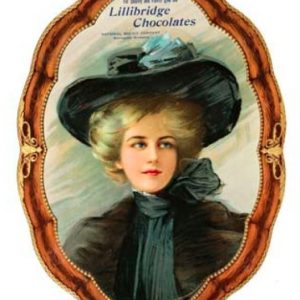 Lillibridge Chocolates Sign