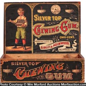 Silver Top Gum Box