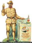 Falstaff Beer Teddy Roosevelt Sign