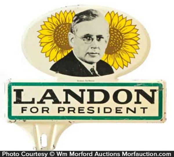 Landon Political Bumper Tag