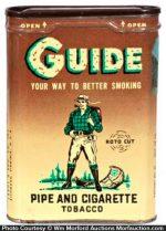 Guide Tobacco Tin