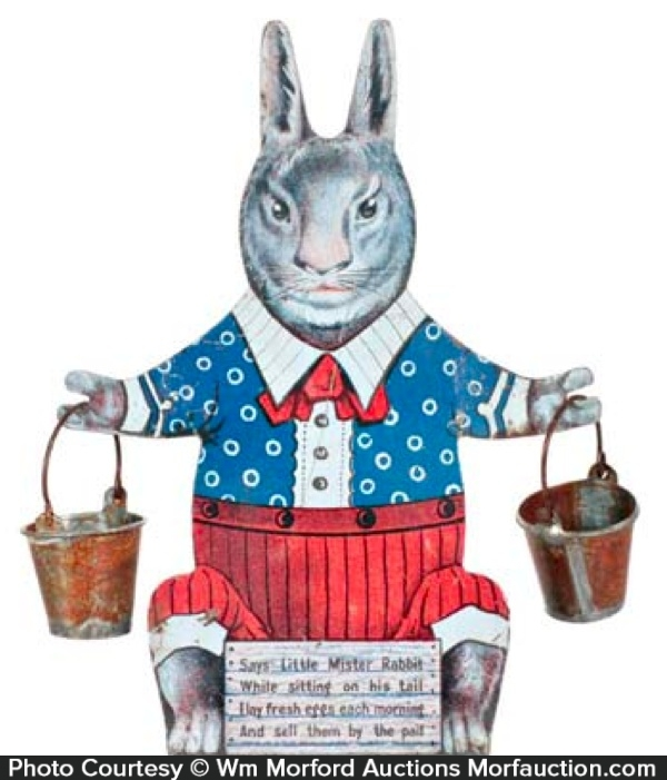 Tin Rabbit Display