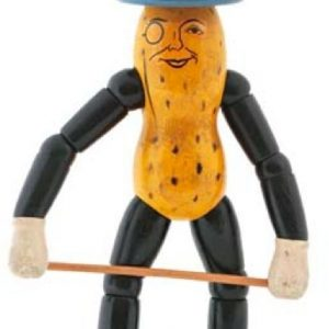 Wooden Mr. Peanut Doll