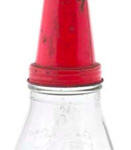 Texaco Glass Oil Bottle