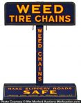 Weed Tire Chain Display