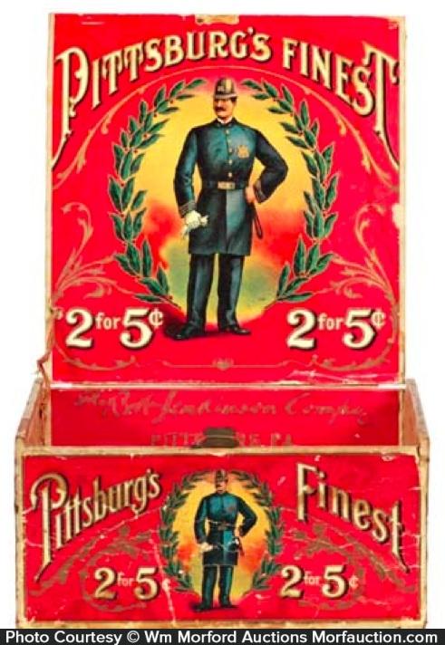 Pittsburg's Finest Cigar Box