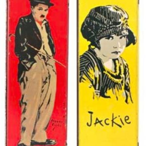 Charlie Chaplin Pencil Boxes