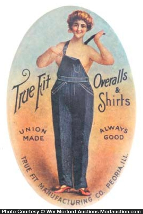 True Fit Overalls Mirror
