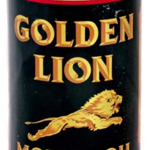 Golden Lion Motor Oil Can
