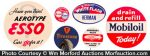 Vintage Service Station Badges