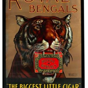 Royal Bengals Cigar Sign