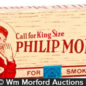 Phillip Morris Cigarette Sample Packs