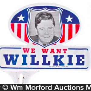 Willkie Bumper Tags