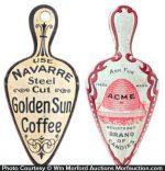 Golden Sun Coffee Scoops