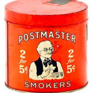 Postmaster Cigar Tin
