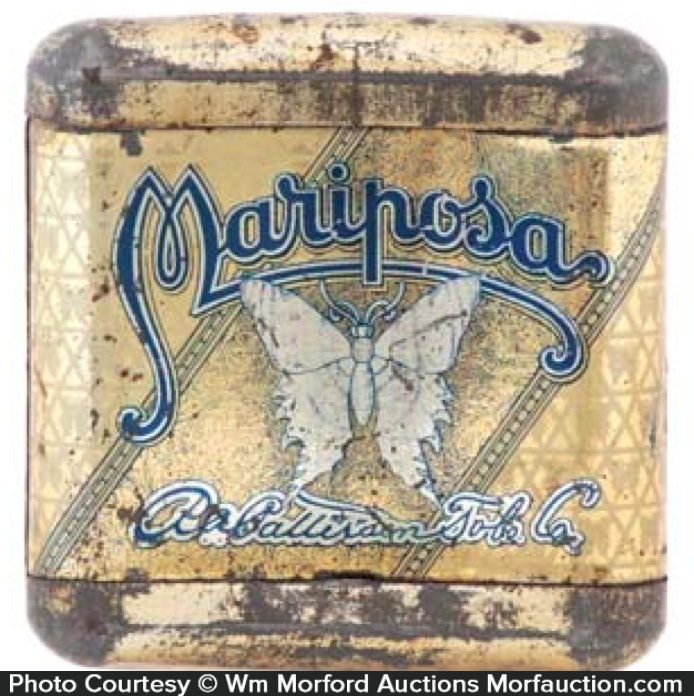 Mariposa Tobacco Tin
