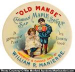 Old Manse Syrup Mirror