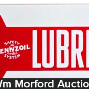 Pennzoil Lubrication Sign