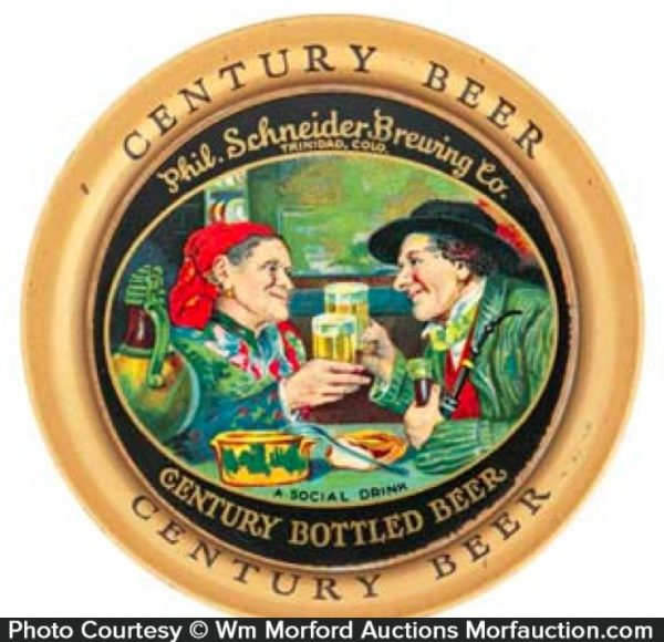 Century Beer Tip Tray