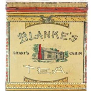 Blanke's Tea Tin