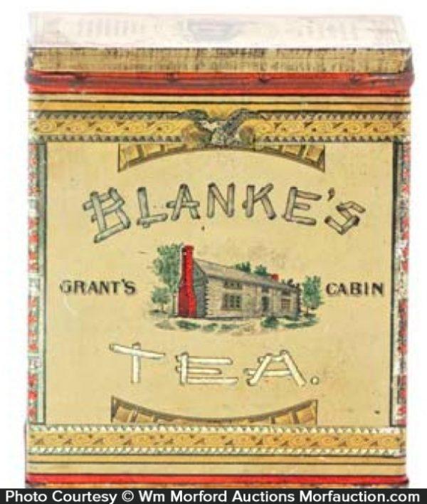 Blanke's Tea Tin