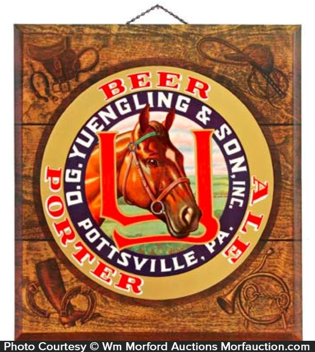 Yuengling's Pony Beer Sign