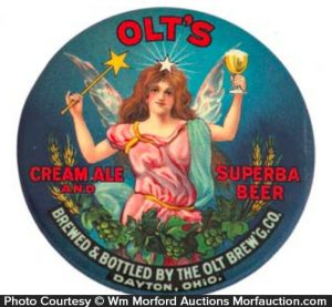 Olt's Cream Ale Superba Beer Mirror