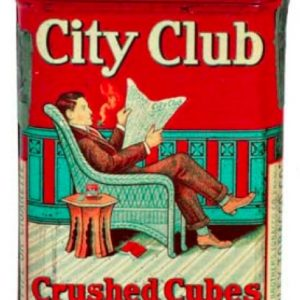 City Club Crushed Cubes Tobacco Tin