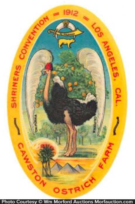 Ostrich Farms Mirror