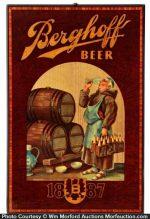 Berghoff Beer Sign