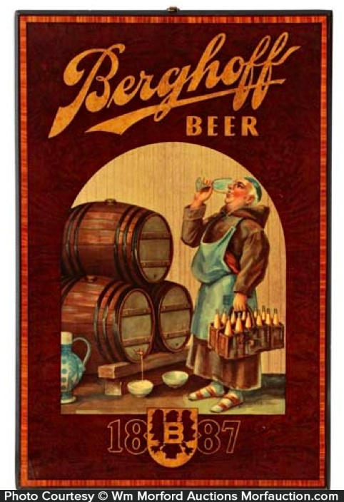 Berghoff Beer Sign