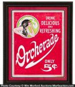 Orcherade Soda Sign