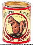 Squirrel Peanut Butter Tin