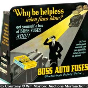 Buss Auto Fuses Display
