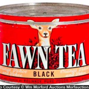 Fawn Tea Tin