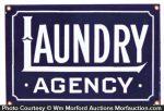 Laundry Agency Sign