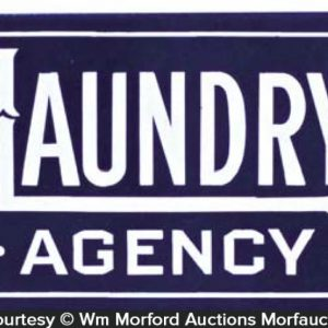 Laundry Agency Sign