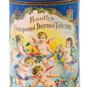 Booth's Talcum Container