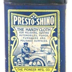 Presto Shino Cloth Tin