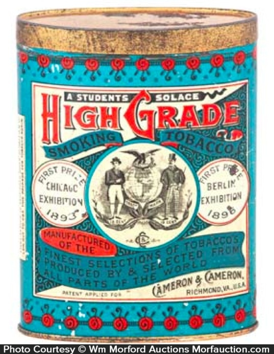 High Grade Tobacco Tin