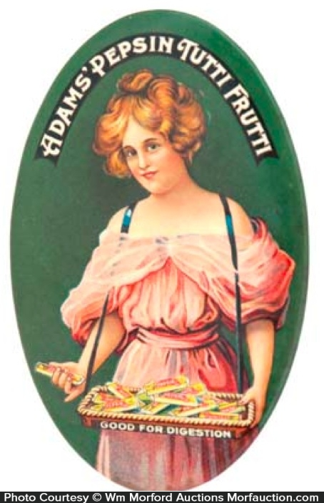 Adams Tutti Frutti Gum Mirror
