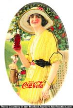 1920 Coca-Cola Mirror
