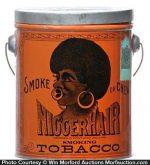 Nigger Hair Tobacco Pail