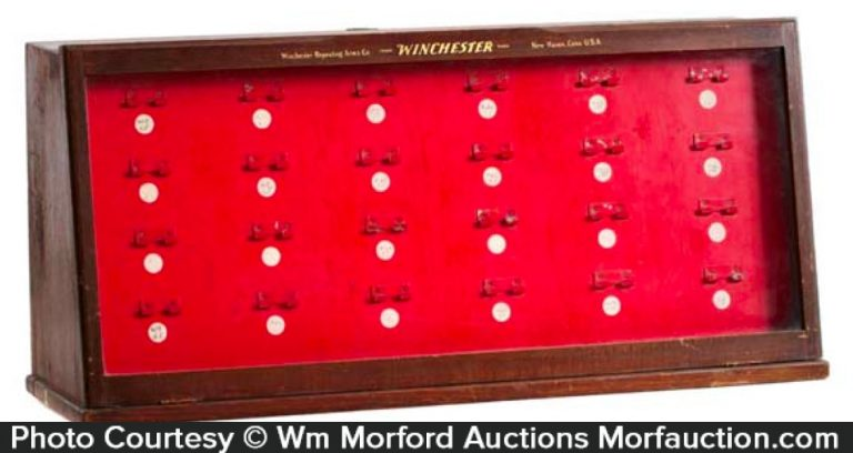 Winchester Knife Display Case