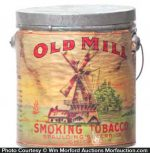 Old Mill Tobacco Pail